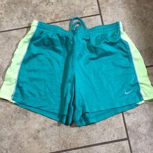 Ladies Nike shorts size Medium